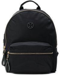 Tory Burch - Tilda Logo Patch Nylon Backpack - Lyst