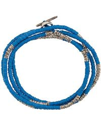 M. Cohen - Bracciale con perline 'Mini Disc and African' - Lyst