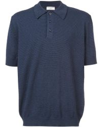 Éditions MR - Striped Positano Polo Shirt - Lyst