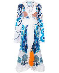Yuliya Magdych | Firebird Embroidered Kimono Dress | Lyst