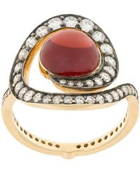 Noor Fares - Planet Spiral Ring - Lyst