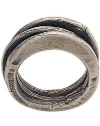 Goti - Distressed Ring - Lyst