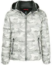 Loveless - Camouflage Print Padded Jacket - Lyst