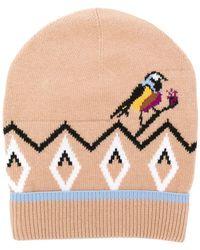 Dorothee Schumacher - Knitted Bird Hat - Lyst