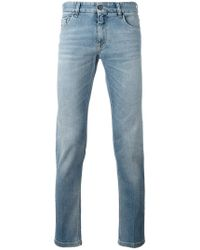 Fendi - Slim Fit Jeans - Lyst