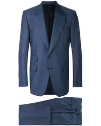 Tom Ford - Peaked Lapel Suit - Lyst