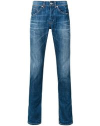 Dondup | Faded Straight Leg Jeans | Lyst