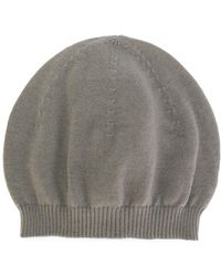 Rick Owens | Ribbed Hat | Lyst