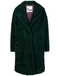 8pm - Oversized Fleece Coat - Lyst