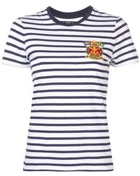 Polo Ralph Lauren - Striped Crest T-shirt - Lyst
