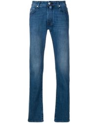 Jacob Cohen - Faded Straight Leg Jeans - Lyst