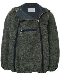 Kolor - Double Zip Hooded Jacket - Lyst