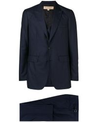 Burberry - Slim-fit Three-piece Suit - Lyst
