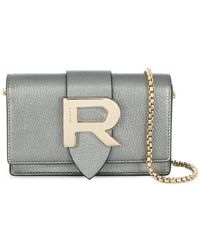 Rochas - R Plaque Crossbody Bag - Lyst