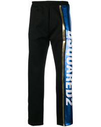 DSquared² - Pantalon de jogging à logo métallisé - Lyst