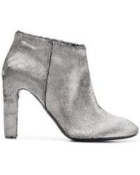 938e333f48c170 Roberto Del Carlo - Metallic Ankle Boots - Lyst