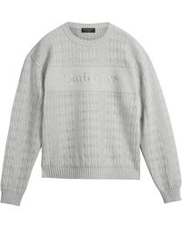 Burberry - Reissued 1990 Textured Knit Jumper - Lyst