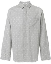 Engineered Garments - Paisley Print Shirt - Lyst