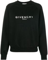 Givenchy - Logo Patch Sweatshirt - Lyst
