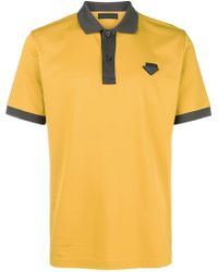 Prada - Logo Polo Shirt - Lyst