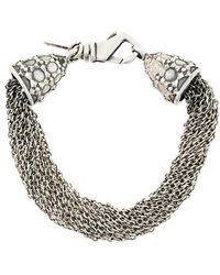Emanuele Bicocchi - Multi Chain Bracelet - Lyst