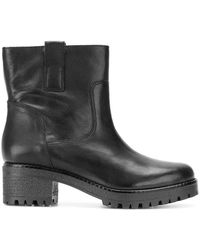 P.A.R.O.S.H. - Chunky Heel Ankle Boots - Lyst