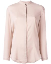 Eleventy - Top With Discreet Front Fastening - Lyst