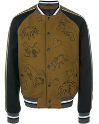 Lanvin - Scorpion Patch Bomber Jacket - Lyst