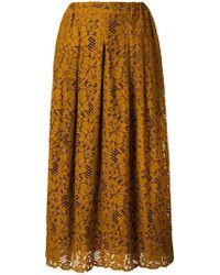 Roseanna - Lace Pleated Skirt - Lyst