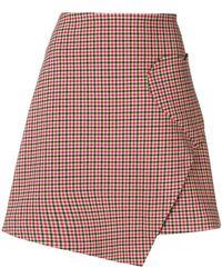 Vivetta - Check Heart-pocket Skirt - Lyst
