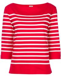 By Malene Birger - Striped Sweatshirt - Lyst
