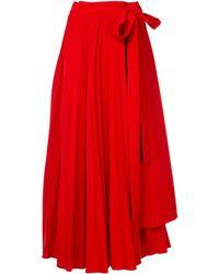 Dalood - Pleated Long Skirt - Lyst