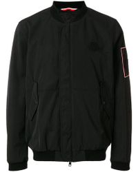 Moncler - Logo Patch Bomber Jacket - Lyst