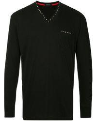 Loveless - Studded T-shirt - Lyst
