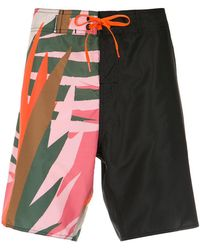 Osklen | Printed Bermuda Shorts | Lyst