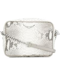 Zadig & Voltaire - Boxy Savage Shoulder Bag - Lyst