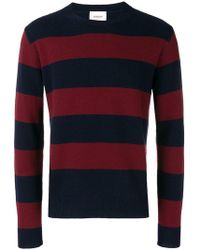 Dondup - Striped Knit Jumper - Lyst