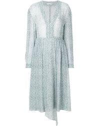 MASSCOB - Long-sleeved Floral Dress - Lyst
