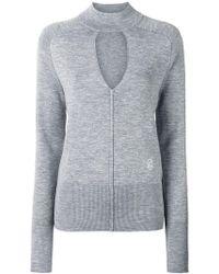Chloé - Spliced Neck Sweater - Lyst