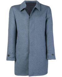 Canali - Concealed Fastening Coat - Lyst