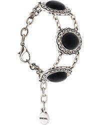 DIESEL - A-stoneh Bracelet - Lyst