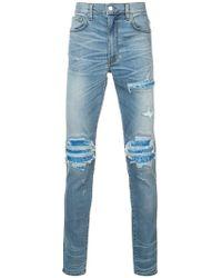 Amiri - Mx1 Ripped Jeans - Lyst