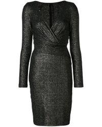 Poral1 dress - Black Talbot Runhof 0MuXPbBim