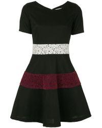 Guild Prime - Lace Panel Skirt - Lyst