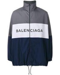 Balenciaga - Bal Tracksuit Poplin Shirt - Lyst