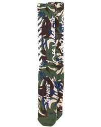 Off-White c/o Virgil Abloh - Camouflage Socks - Lyst