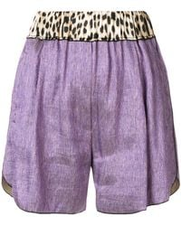 Forte Forte - High Waisted Shorts - Lyst