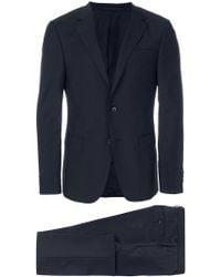 Z Zegna - Cropped Trouser Suit - Lyst