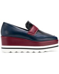Pollini - Wedge Loafers - Lyst