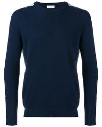 Ballantyne - Argyle Pattern Sleeve Jumper - Lyst